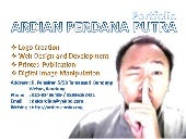 Portfolio Ardian Perdana Putra