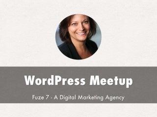 Portland WordPress Meetup for January 19th, 2015