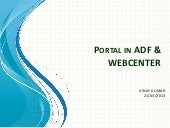 Webcenter Portlal training...