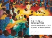 The Harlem Renaissance by Monica Portugal
