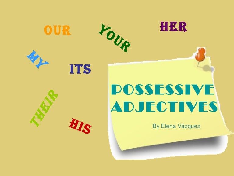 adjective powerpoint