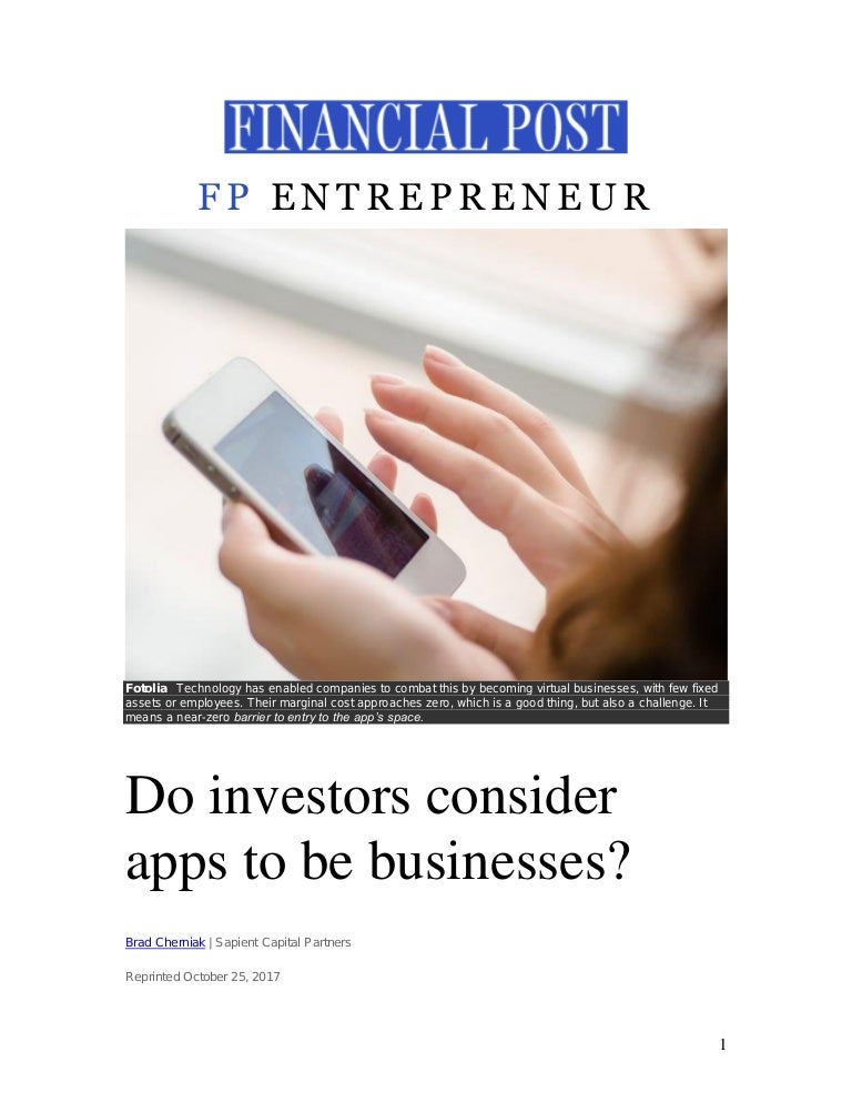 how do business investors get paid