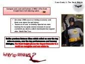 Post 911 Cinema: The Dark Knight