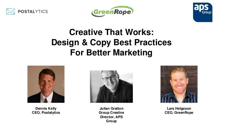 creative that works design copy best practices for better marketing