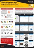 Poster: Supporting Mobile Web Augmentation by End Users