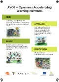 EdMedia Poster: AVO2 - Openness accelerating learning networks