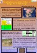 Poster94: Targeting bean research in the face of drought and climate change
