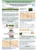 Poster72: Development of Chromosome Segment Substitution Lines in two interspecific Oryza Sativa x Oryza glabberima populations