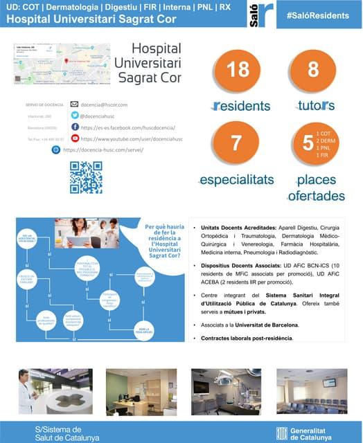 Pòster Saló del Resident HUSC 2020 (català)