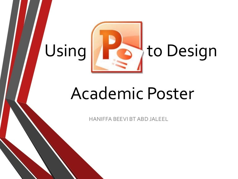 scientific poster power point