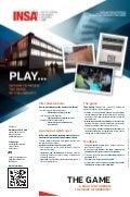 Poster anglais du jeu à réalité alternée (ARG) :  des joueurs à la Bibliothèque !