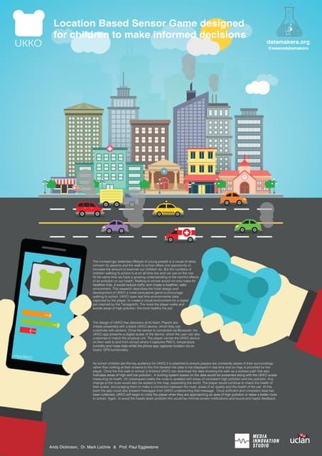 Location Based Sensor Game for Children to make Informed Decisions