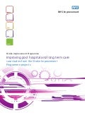 Improving post hospital and long term care: case studies from the Stroke Improvement Programme projects