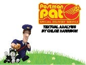 Postman pat textual analysis