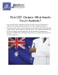 Post OET Classes: What Awaits You in Australia?