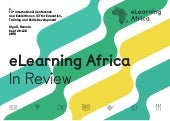 eLearning Africa: In Review 2018. @eLAconference