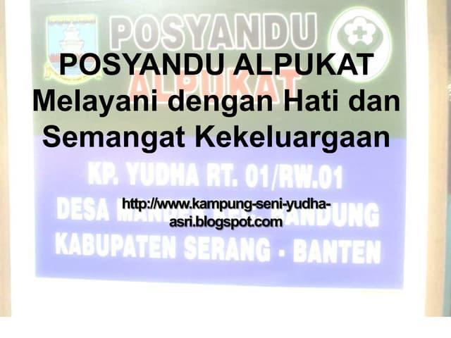 Posyandu Alpukat