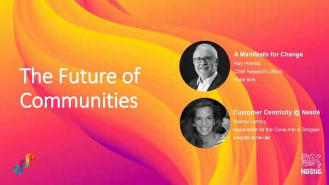 The Future of Communities - Webinar