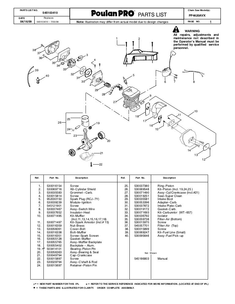 30 Poulan Pp4218avx Fuel Line Diagram