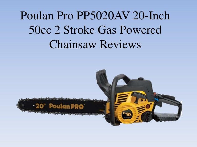 Poulan Pro Pp5020 Av Chainsaw 5020 50cc NEW