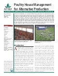 Poultry House Management for Alternative Production
