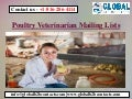 Poultry Veterinarian Mailing Lists