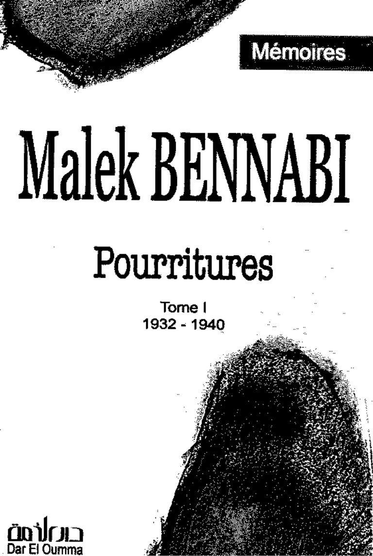 Livre Malek Bennabi Pdf