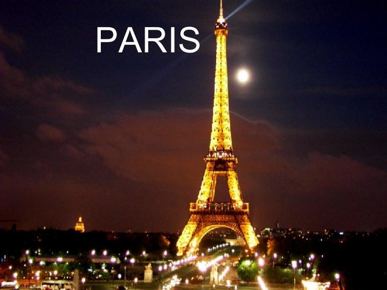 My favorite city paris eg ppt call.