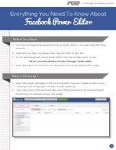 Facebook Power Editor: Everything You Need to Know