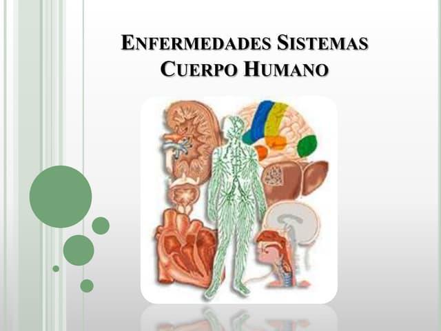 Enfermedades sistemas del cuerpo humano