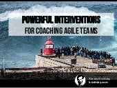Powerful interventions for agile coaching