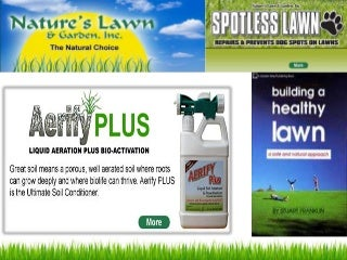 Powerful liquid fertilizer with easy aeration facility for lawns