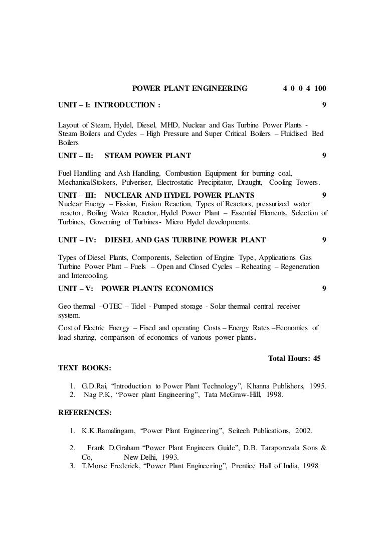 Power Plant Engineering Question Bank Diesel Layout And Working