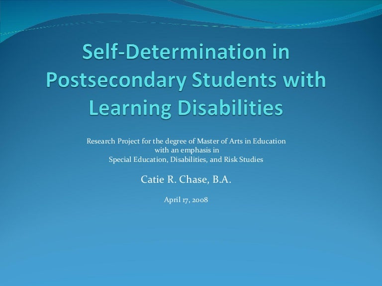 thesis abstract special education Administrative attitudes and factors found in special education directors implementing universal design for learning/e-text within a state special education system allday, carrie marie mathis performance of students with exceptionalities in florida virtual school phd thesis, oklahoma state university.