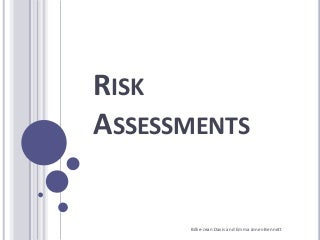 Risk analysis in business plan