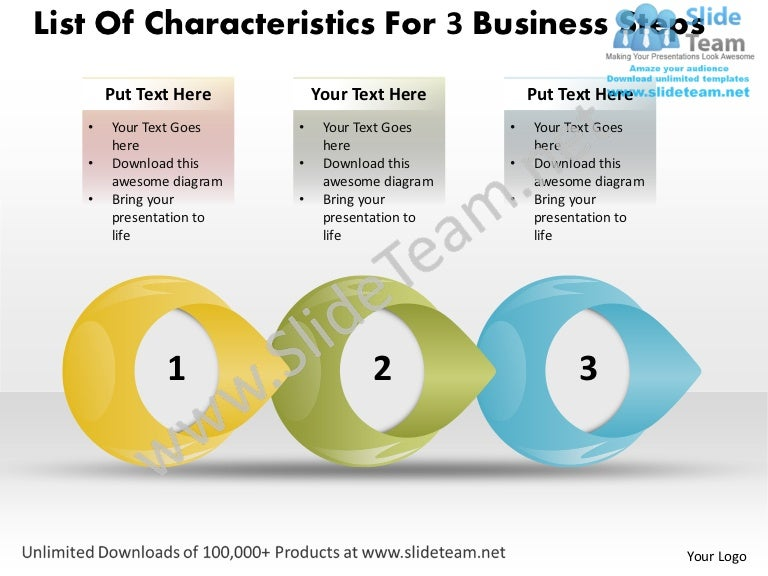Powerpoint Templates Free Download Steps How To Write Up Business Plan
