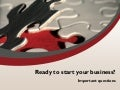 Ready to start your business?