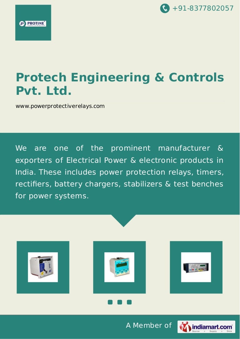 Protech Engineering Controls Pvt Ltd Mumbai Idmt Relays Electric Relay