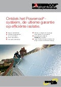 Recticel Insulation - Powerroof productflyer