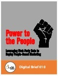 LUMA Digital Brief 010 - Power to the People