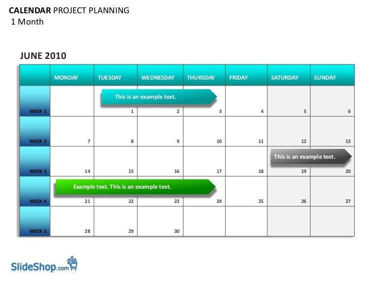 Doc Free Project Management Calendar Template free project – Planning Calendar Template