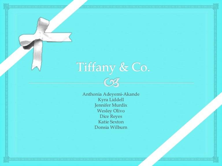 Tiffany Co Marketing Campaign