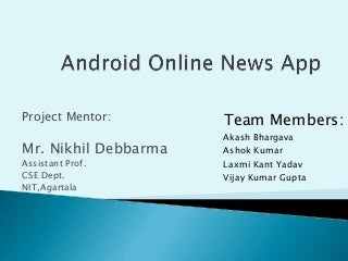 Android Project Presentation