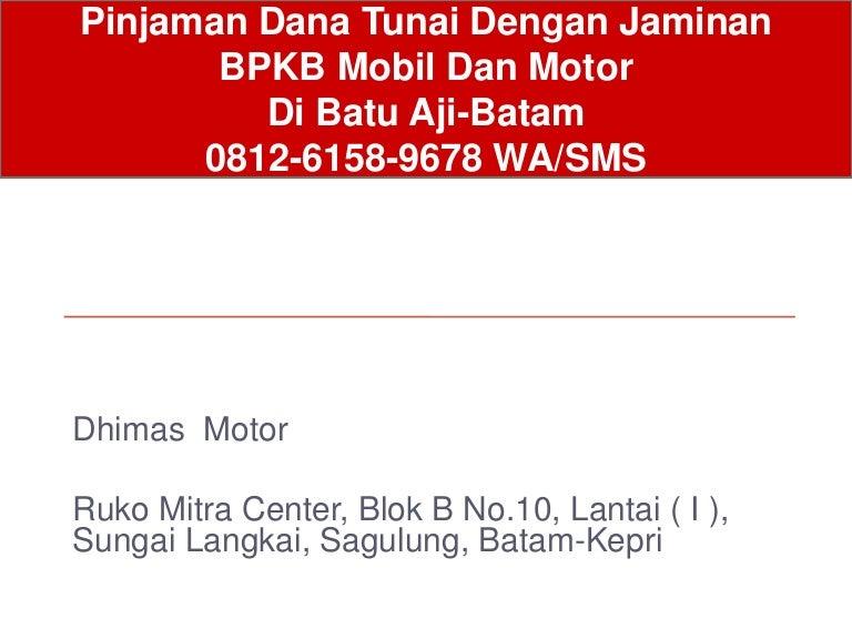 Gadai BPKB Motor Di Adira Batam d599e3b6fb