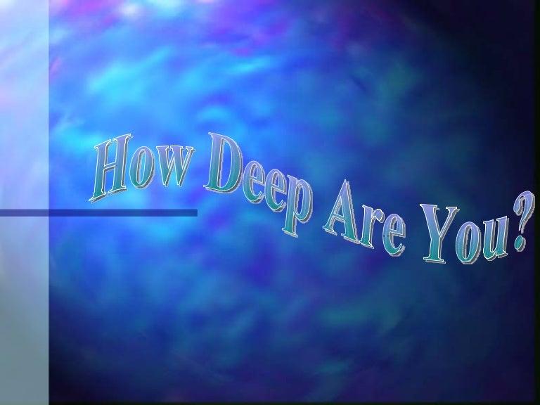 spiritual depth finder, Fish Finder
