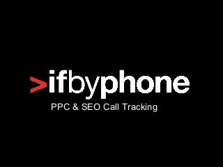 How To Configure PPC and SEO Call Tracking