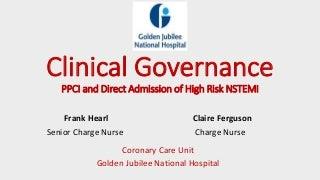 Essays on clinical governance
