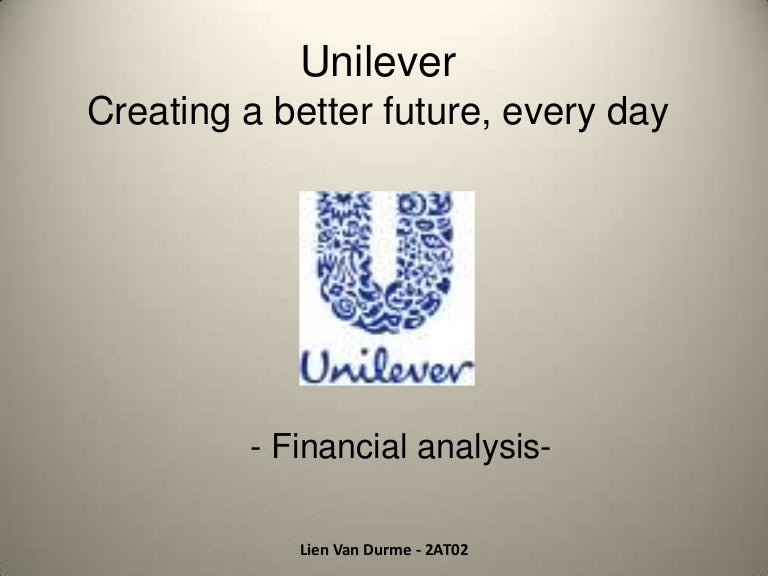 unilever nepal financial analysis Market and operations analysis of unilever  an organisation could decided to use market skimming and financial objectives or penetration pricing and.