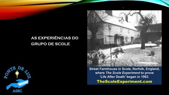 As experiências do Grupo de Scole