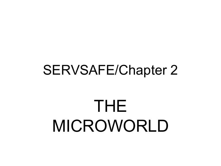Servsafe chapter 2 ppt